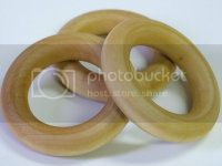 Set of 3 Maple Teething Rings